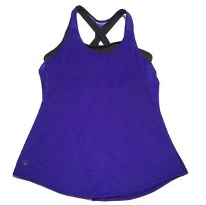 Athleta • tank with built in bra
